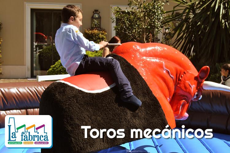 animacion comuniones con toros mecanicos en Jerez El Puerto CADIZ SEVILLA Y MALAGA