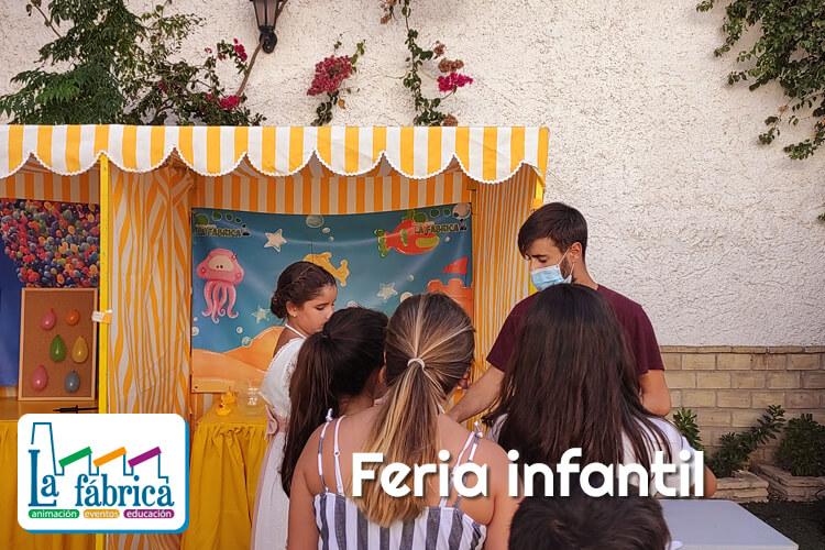 feria infantil para comuniones en Jerez El Puerto CADIZ SEVILLA Y MALAGA